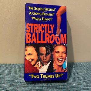 Strictly Ballroom VHS Tape